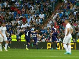 O Bernabéu já não intimida. EFE