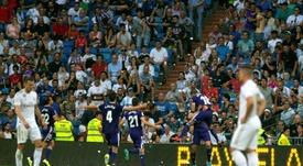 La historia no cambia en el Santiago Bernabéu. EFE