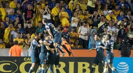 Así se prepararon América y Tigres para el segundo asalto. EFE/Miguel Sierra