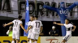 Olimpia se mantiene líder en el Clausura Paraguaya. EFE