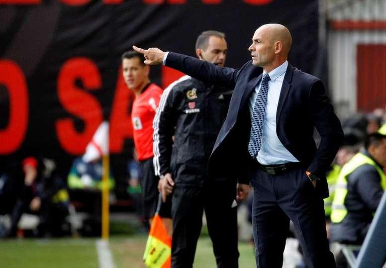 Paco Jémez no consigue ganar lejos de casa desde el encuentro ante el Extremadura. EFE