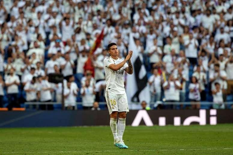 Ancelotti still dreaming of James. EFE