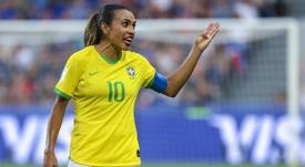 Marta sufre una lesión y se perderá un torneo amistoso con Brasil. EFE/Srdjan Suki