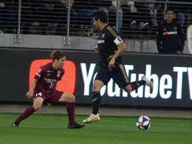 Avec son talent, Vela devrait jouer au plus haut niveau selon son ancien coach. EFE/Armando Arorizo