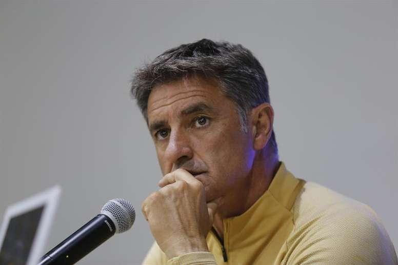 Michel debe mejorar las seis victorias del torneo anterior. EFE