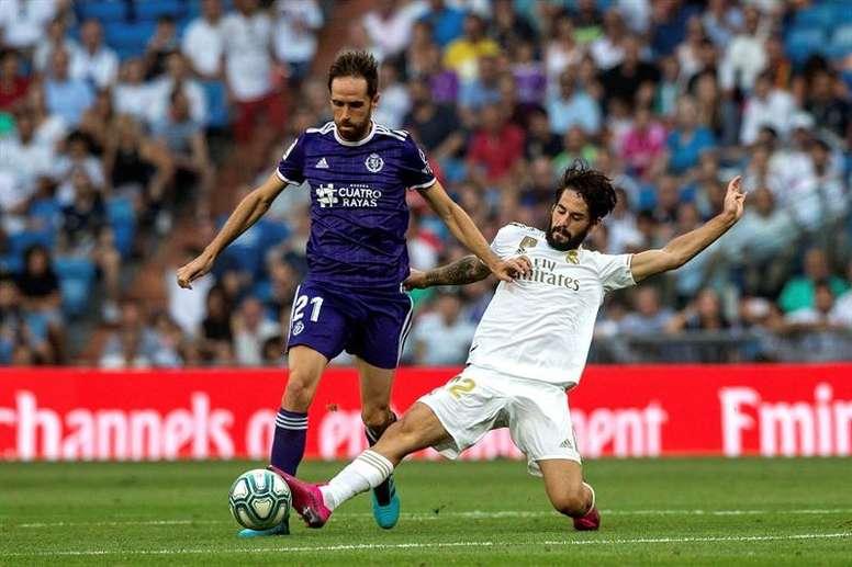Isco ne joue pas au Real Madrid. EFE