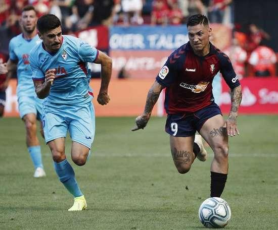 Sergio Álvarez espera mucho más del Eibar. EFE