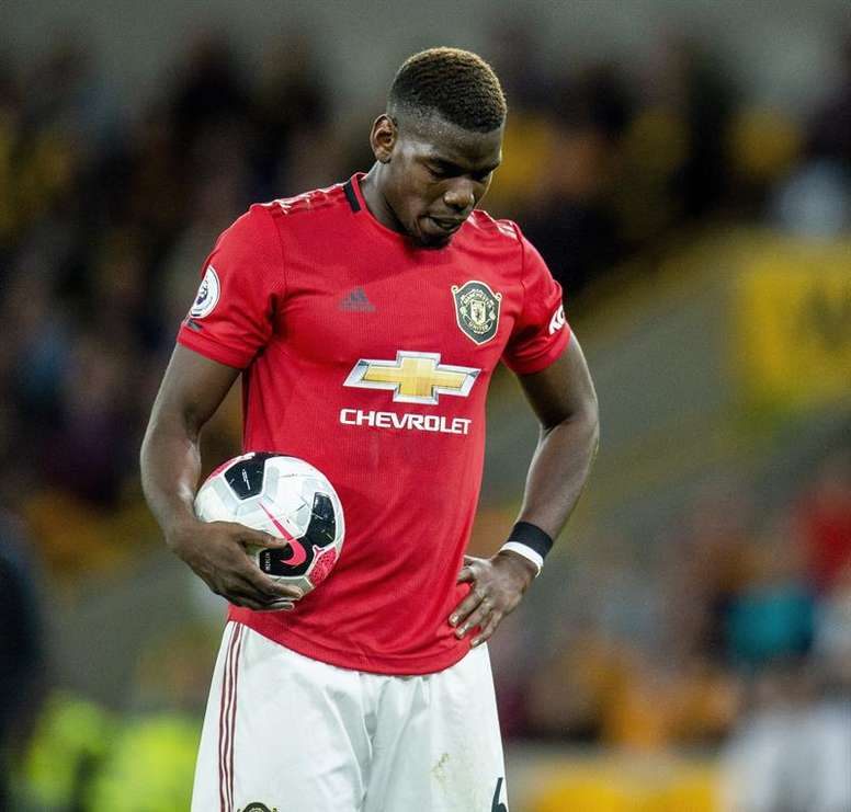 Pogba could be set for a move to Madrid. EFE