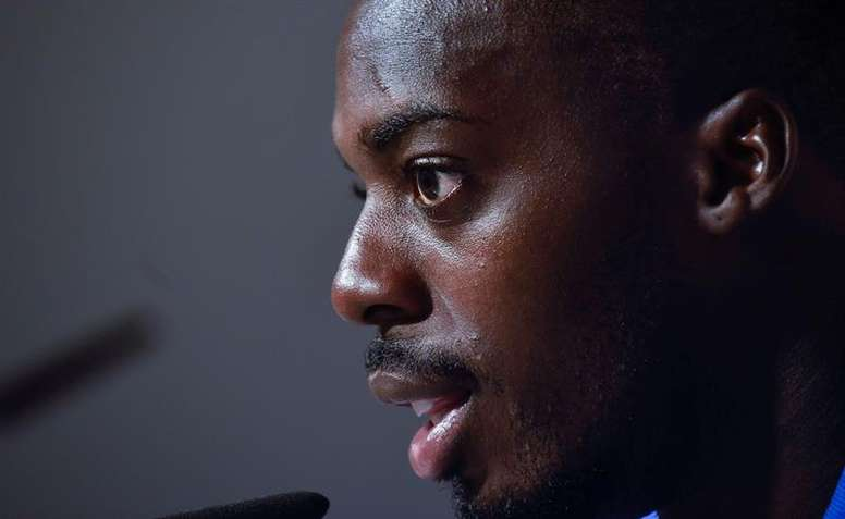 Williams animó el derbi con sus últimas declaraciones. EFE/ Miguel Toña