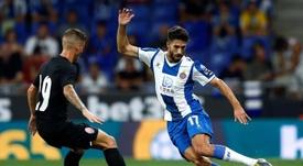 Dídac Vilà, el mejor recuperador de la Liga Española. EFE/Enric Fontcuberta