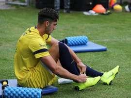 La joya ecuatoriana se queda en Barcelona pese al interés del Madrid. EFE/JoseJacome