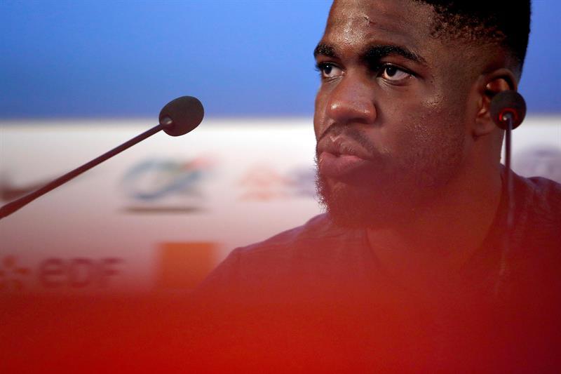 Quelle absence pour Umtiti — Barça