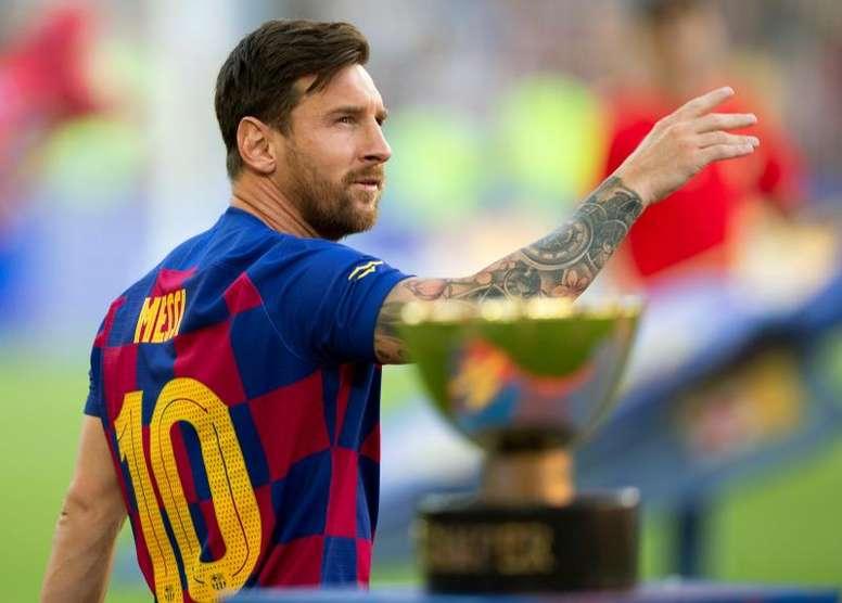 Messi se retiraría en la MLS tras despedirse del Barça. EFE