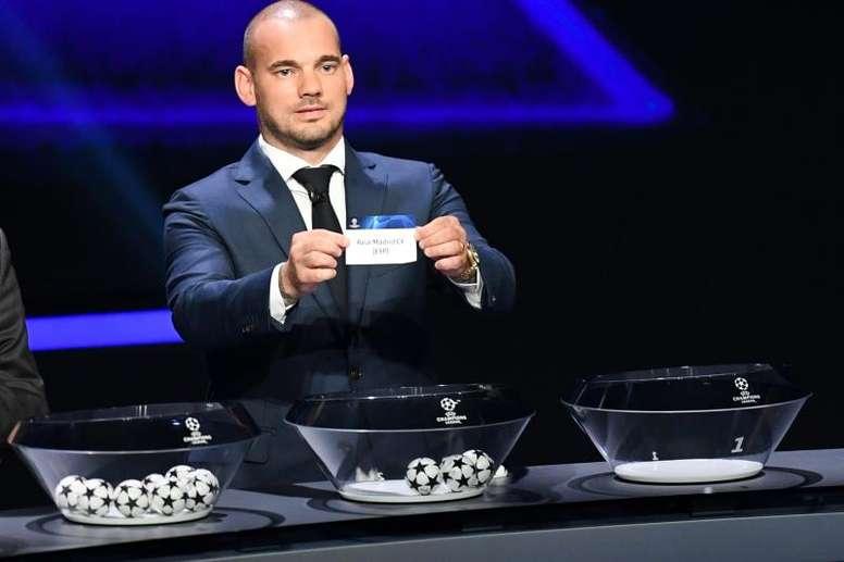 Sneijder falou sobre sua fase de jogador. EFE/EPA/ALEXANDRE DIMOU
