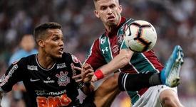 Caio Henrique podría renovar cesión en Fluminense o irse a Gremio. EFE