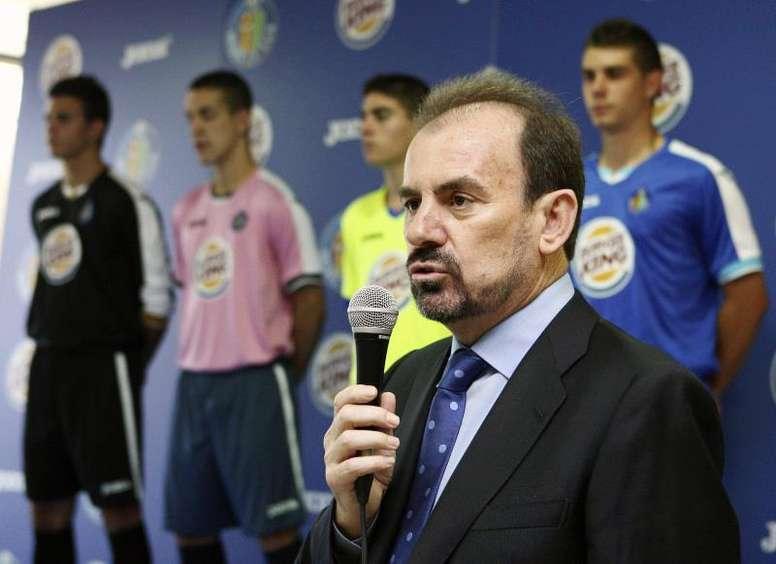 La alcaldesa de Getafe ha lanzado una advertencia al presidente del club azulón. EFE/Archivo