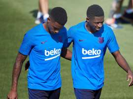 Another Barcelona player sidelined for the Inter clash. EFE