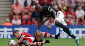 El United solo sacó un punto de su visita al Southampton. EFE