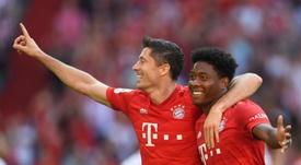 El Bayern remontó y goleó sin piedad al Mainz 05. EFE