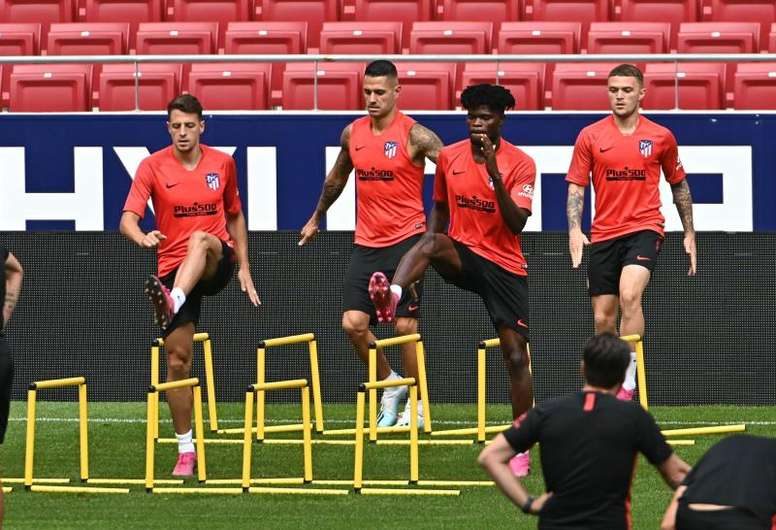 Thomas and Trippier are two players in La Liga that perform well. EFE