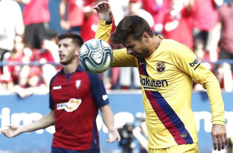 La défense refait débat au Barça. EFE