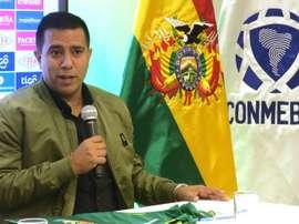 Cesar Farías hará lo imposible por meter a la 'Verde' en un Mundial. EFE/Gabriel Romano