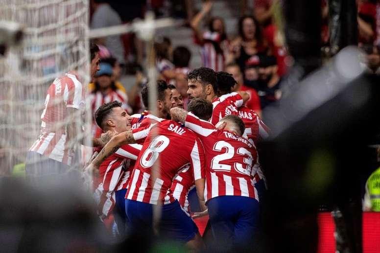 Un mes impresionante en el Wanda Metropolitano. EFE