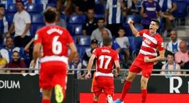 Victoria contundente del Granada en el RCDE Stadium. EFE