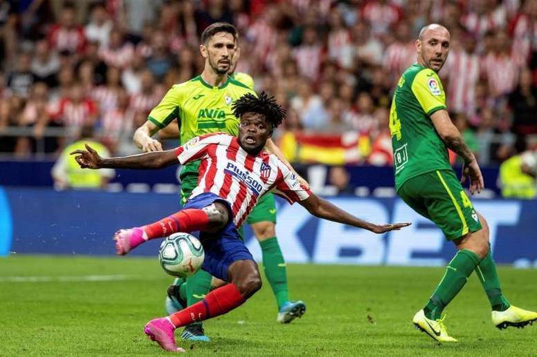 Thomas y el Atlético ya se han sentado a hablar de la renovación. EFE