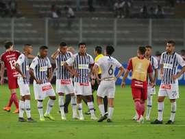 Alianza Lima comienza con pinchazo. EFE/Ernesto Arias/Archivo