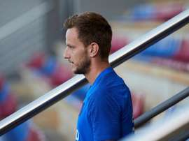 Ivan Rakitic will be staying put at Barca. EFE