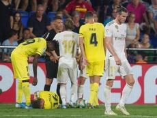 Las pruebas de Zidane. EFE