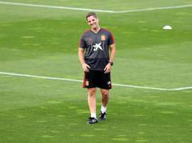 Robert Moreno will explain his departure in the next few days. EFE