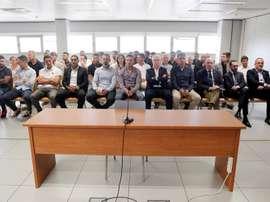 Juiz absolve 36 jogadores do caso Levante-Zaragoza. EFE/ Kai Försterling