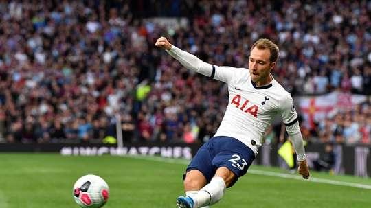 Tottenham propose les services d'Eriksen au Real Madrid contre 25 millions d'euros. EFE