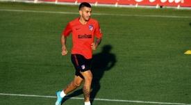 Ángel Correa perde seu lugar no Atlético de Madrid. EFE/Kiko Huesca/Archivo
