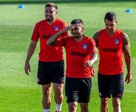 Correa de retour dans les plans de l'Atlético. EFE