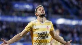 A Fernando Vázquez le habría encantado no tener que enfrentarse a Stuani. EFE