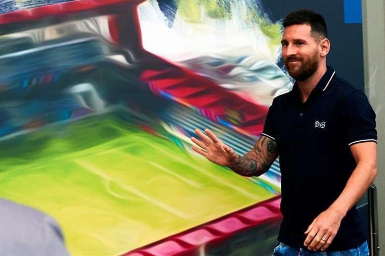 Messi se puede ir del Barça cuando quiera. EFE