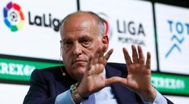 Tebas fue criticado por el abogado de Gustavo Munúa. EFE