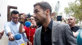 Gabi cargó contra los que ningunearon al Atlético. EFE