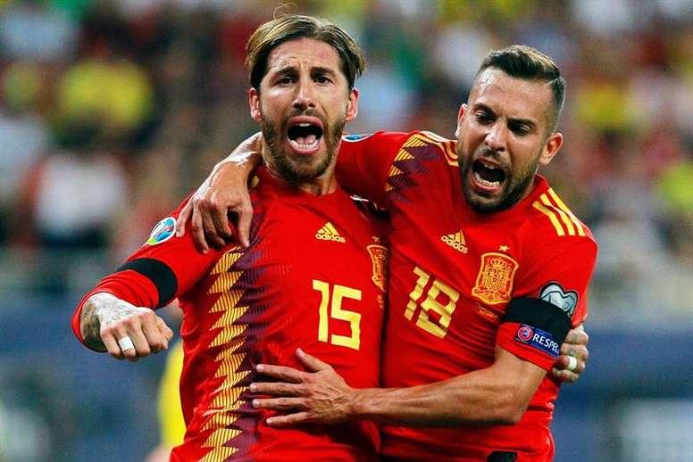 España no logró el billete a la Eurocopa ante Noruega. EFE