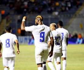 Honduras supera el trámite. EFE/Humberto Espinoza