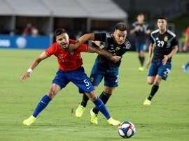 Lautaro supera Mesis, Maradona e Higuaín. EFE/ Armando Arorizo