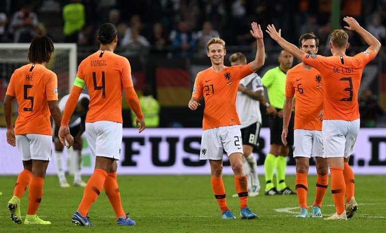 Le programme des matches de qualification à l'Euro. EFE