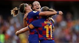 El Barça espera lograr un buen resultado. EFE