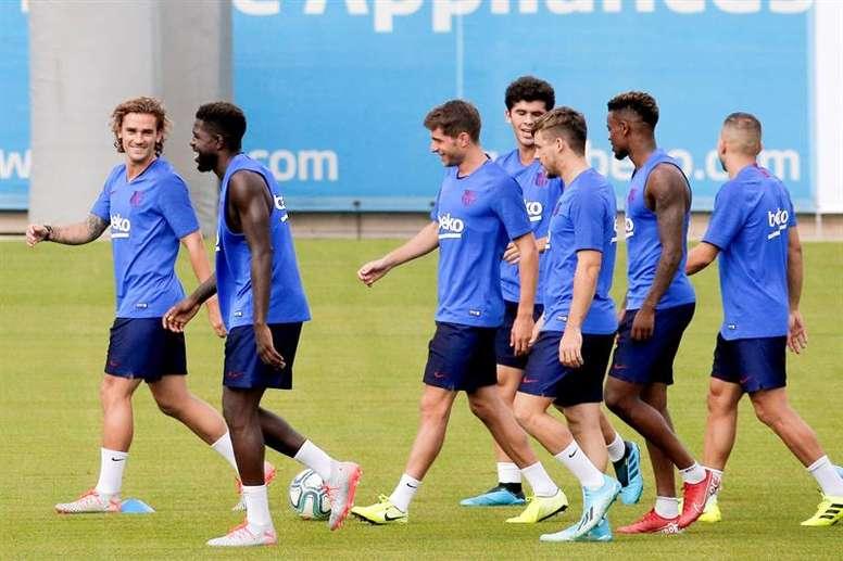 Los deberes médicos del Barça durante el parón. EFE