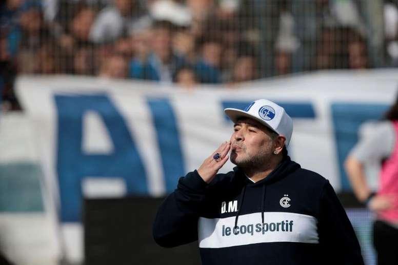 Esto es lo que Maradona le pidió a sus jugadores. EFE
