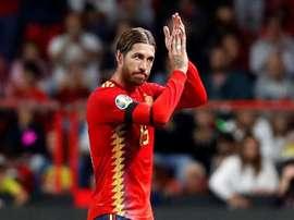 Il capitano e difensore del Real Madrid e della Spagna. EFE