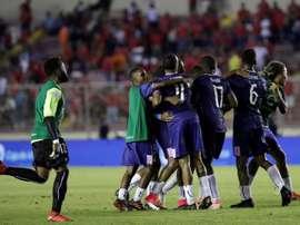 Bermudas amarga el debut del 'Tolo'. EFE